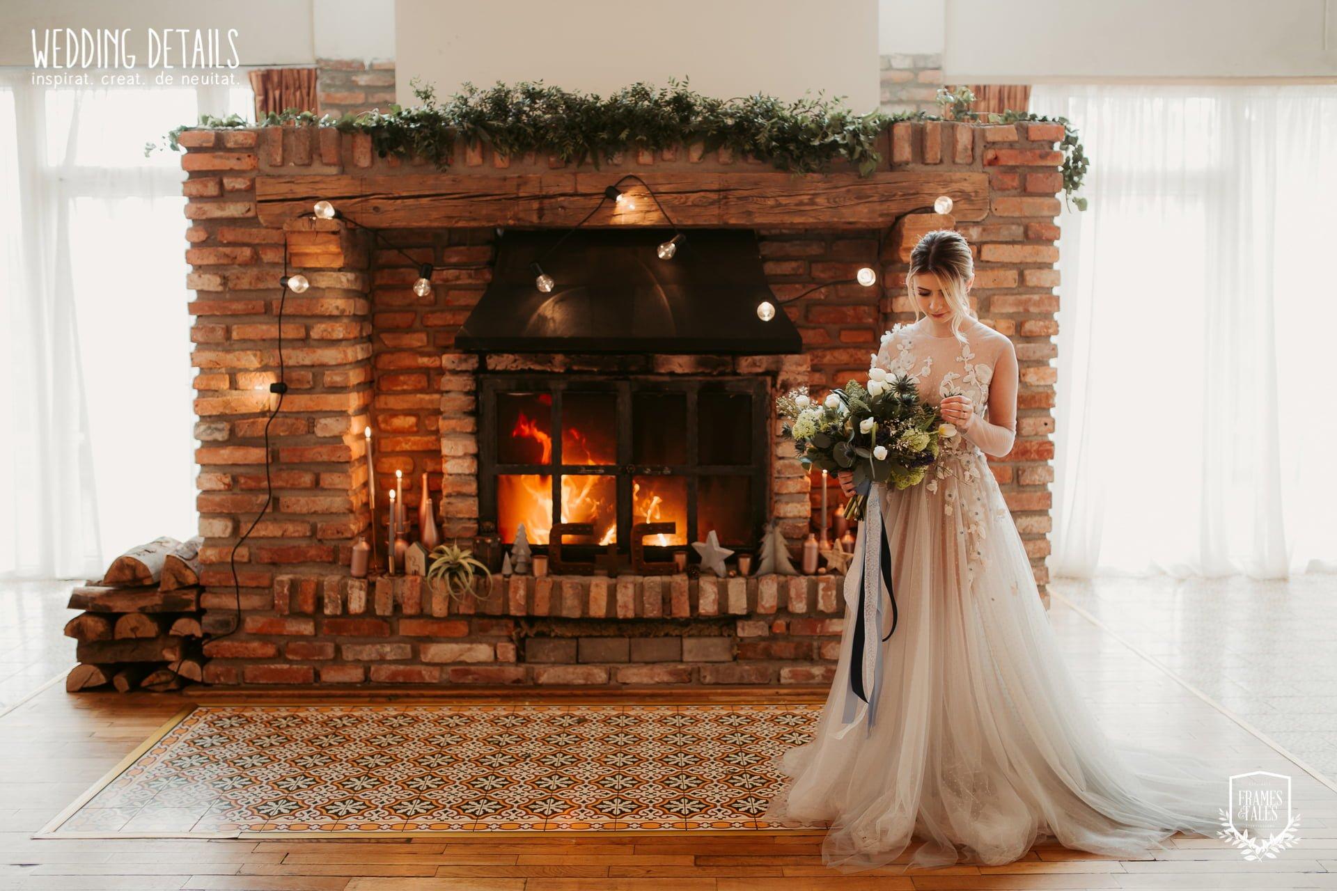 Nuntă industrială de iarnă - Sedință foto inspirațională