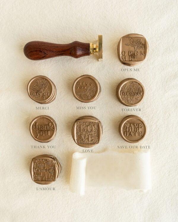 Language of Love Wax Seal Collection - PAPIRA