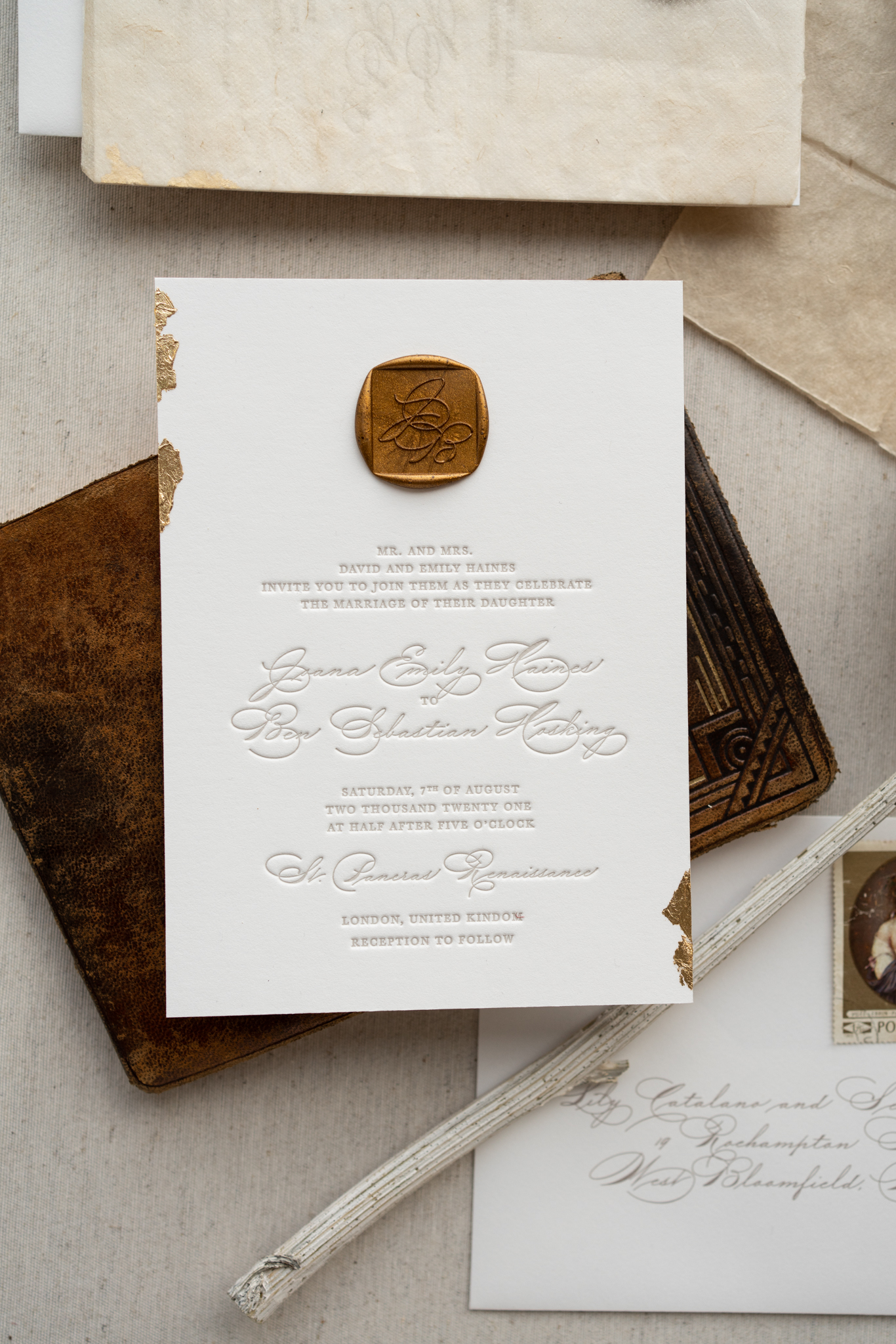 Papira Letterpress Wedding Invitations