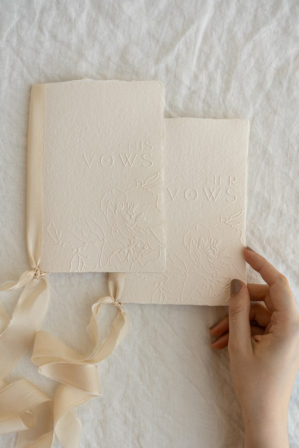 his and hers vows book