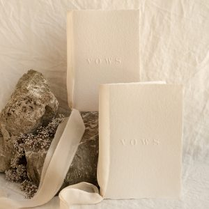 letterpress vow books