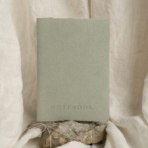 notebook letterpress on handmade paper PAPIRA