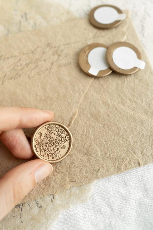 Forever Self Adhesive Wax Seal PAPIRA