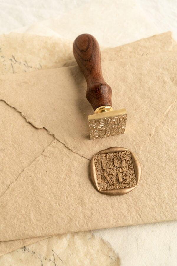 LOVE Wax Seal Stamp PAPIRA