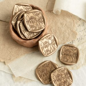 L'amour Self Adhesive Wax Seals - PAPIRA