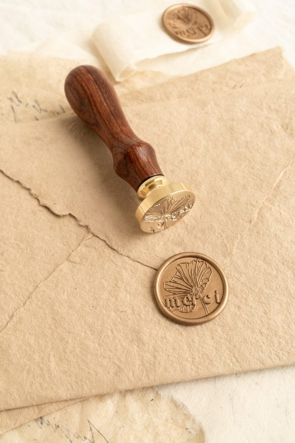 Merci Wax Seal Stamp PAPIRA