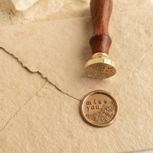 Miss You Wax Seal Stamp - PAPIRA