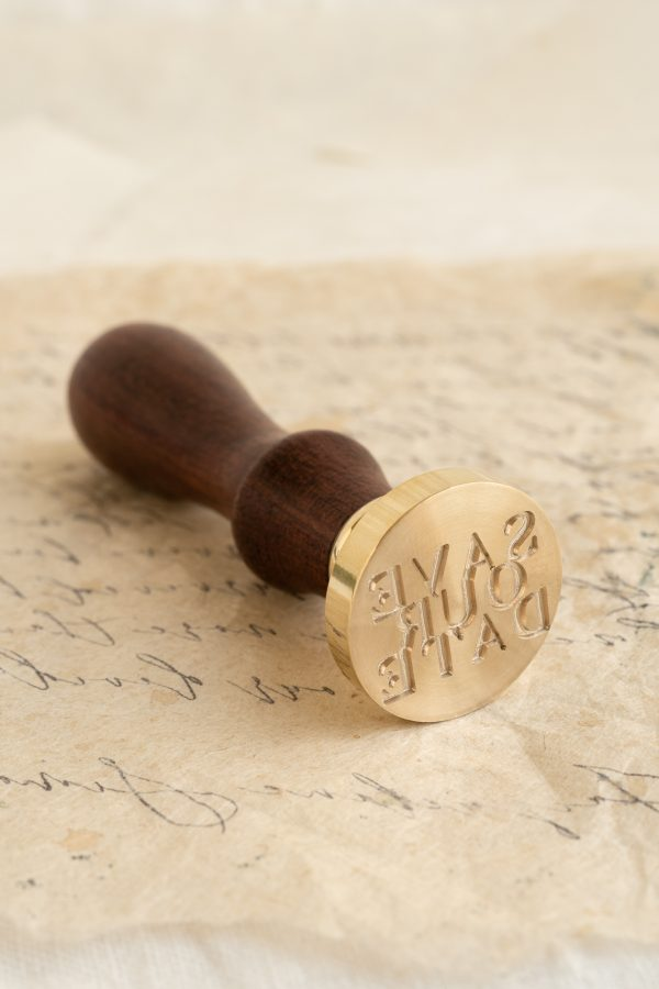 Save Our Date Wax Seal Stamp_PAPIRA