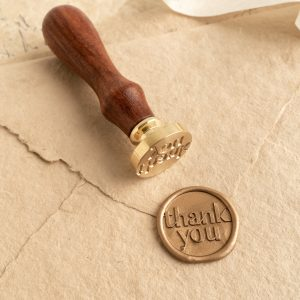Thank You Wax Seal Stamp - PAPIRA
