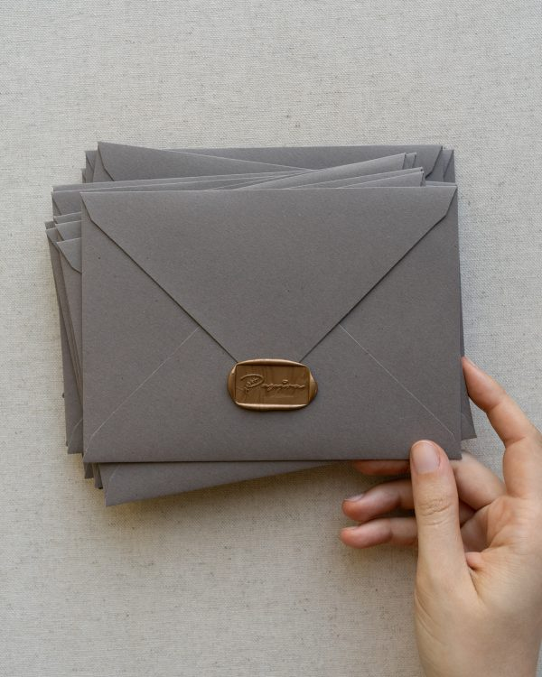 plicuri colorate handmade grey