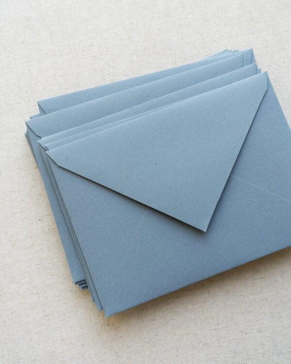 plicuri colorate handmade FLORA BLUE