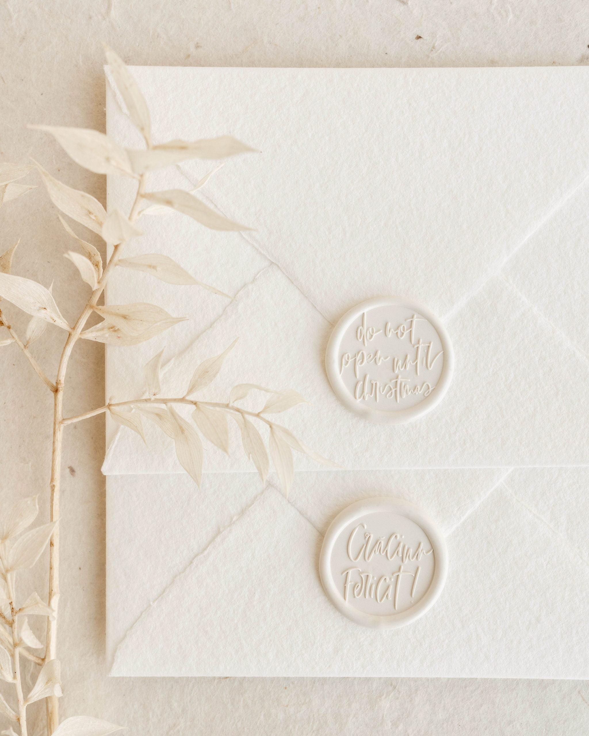 Christmas Wax Seal Stamps -- PAPIRA